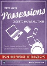 Keep your possessions close