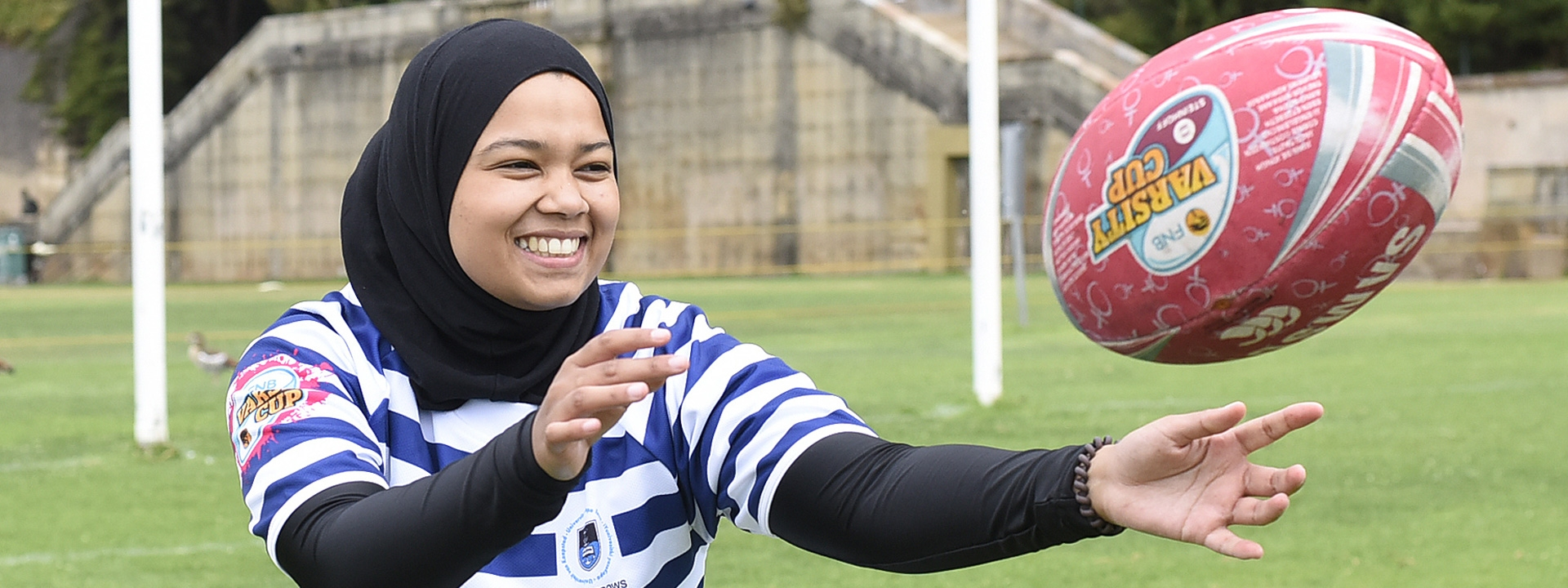 Rugby in hijab