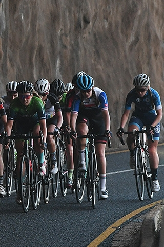 Cycle Tour success for UCT's Preen